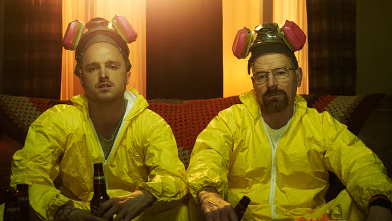 "Kadr z serialu ""Breaking Bad"""