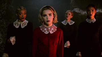 "Kadr z serialu ""Chilling Adventures of Sabrina"""