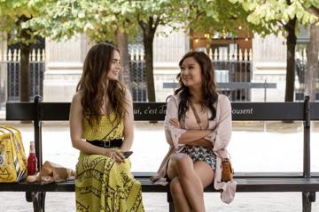 """Kadr z serialu """"Emily w Paryżu"""""""