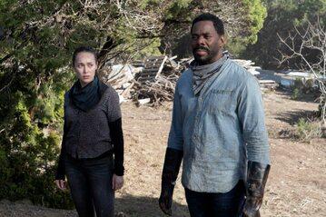 """Kadr z serialu """"Fear the Walking Dead"""" (sezon 6B)"""