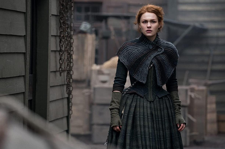 "Kadr z serialu ""Outlander"""