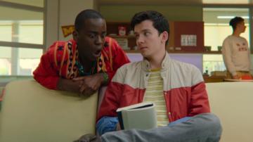 "Kadr z serialu ""Sex Education"""