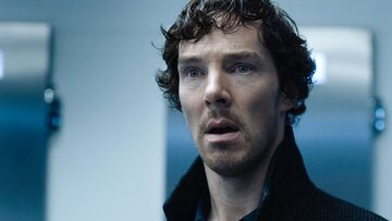 """Kadr z serialu """"Sherlock"""""""