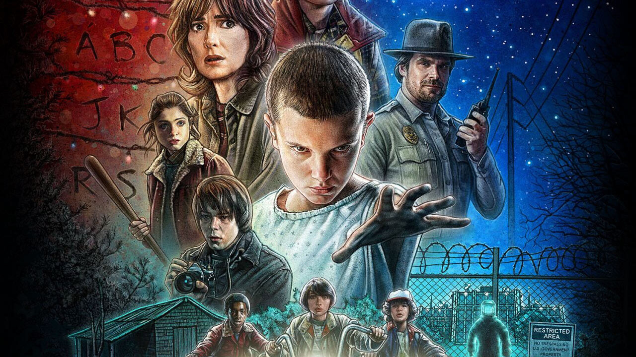 "kadr z serialu ""Stranger Things"" (2016)"