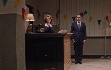 """Kadr z serialu """"Ucho prezesa"""""""
