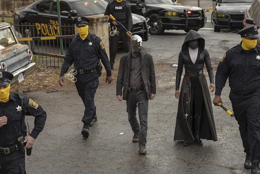 """Kadr z serialu """"Watchmen"""""""