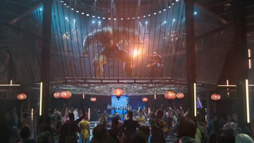 """Kadr ze zwiastuna filmu """"Shang-Chi i legenda dziesięciu pierścieni"""""""