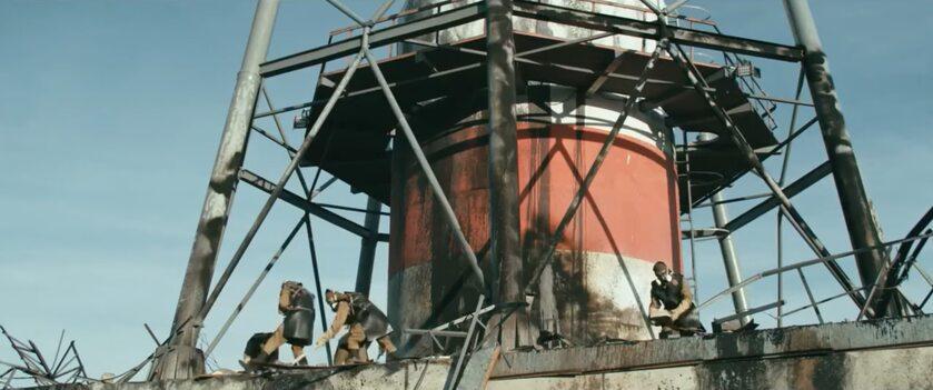 """Kadr ze zwiastuna rosyjskiego serialu """"Czarnobyl"""""""
