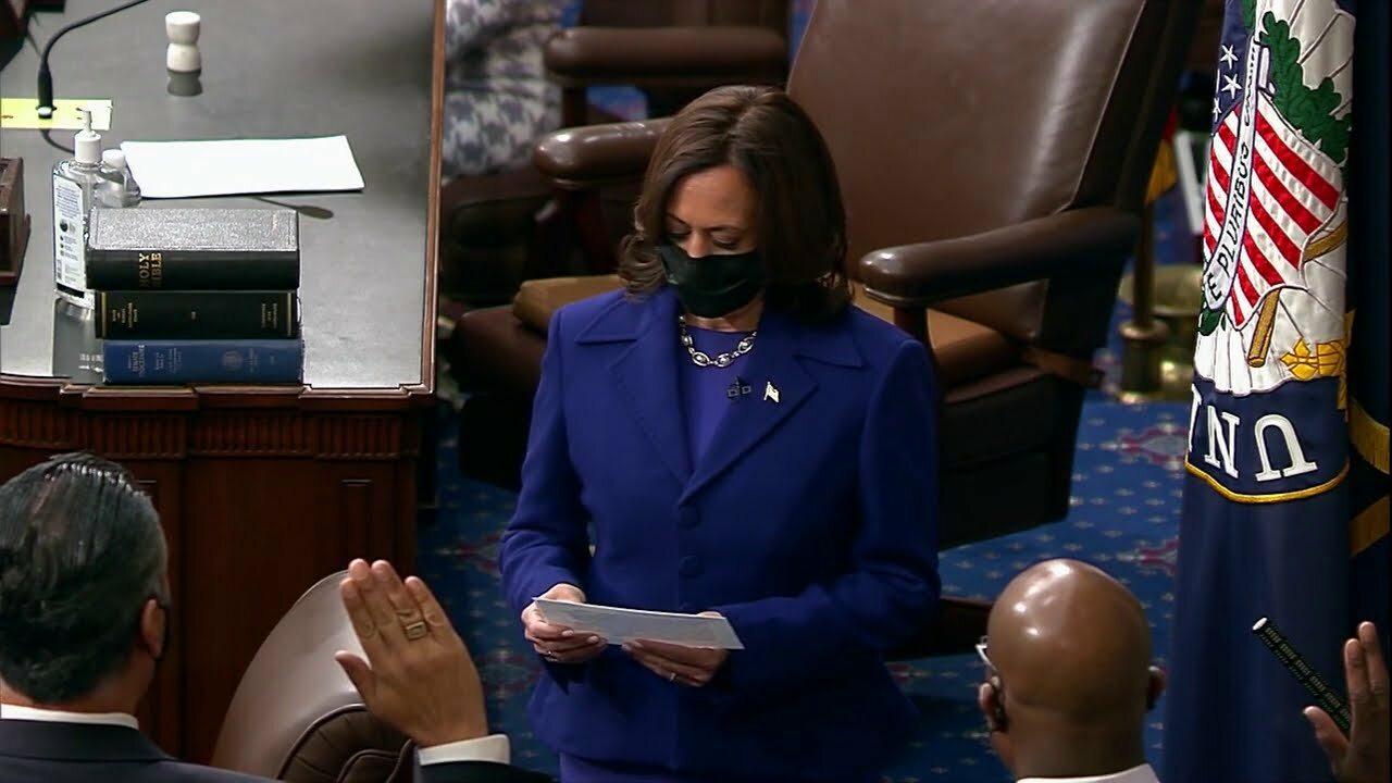 Kamala Harris w Senacie USA