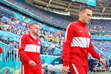 Kamil Glik i Piotr Zieliński