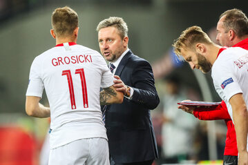 Kamil Grosicki, Jerzy Brzęczek i Jakub Błaszczykowski