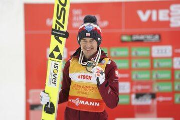 Kamil Stoch z brązowym medalem Pucharu Świata