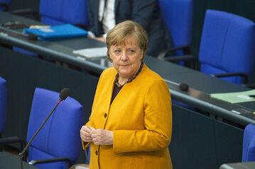 Kancerz Niemiec Angela Merkel