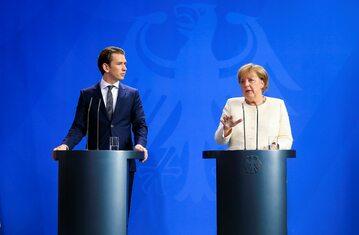 Kanclerze Austrii oraz Niemiec