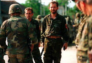 Kapitulacja członków Armii Wyzwolenia Kosowa