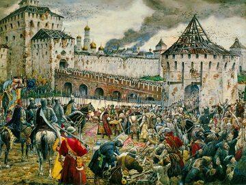Kapitulacja polskiej załogi na Kremlu w 1612 roku