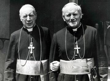 Kard. Stefan Wyszyński i Jan Paweł II