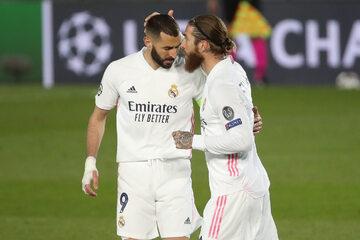 Karim Benzema i Sergio Ramos