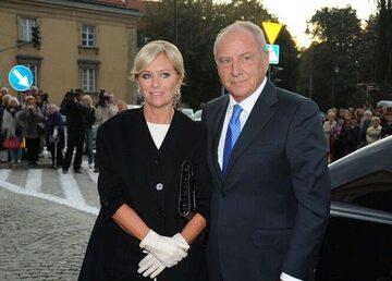 Katarzyna Frank-Niemczycka z mężem Zbigniewem Niemczyckim