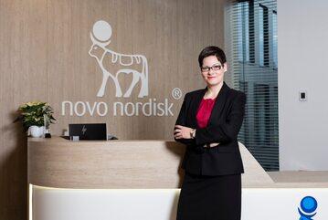 Katarzyna Kacperska, dyrektor generalna Novo Nordisk Pharma