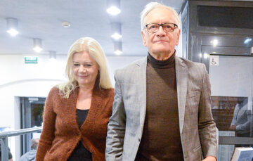 Katarzyna Kubacka-Seweryn i Andrzej Seweryn