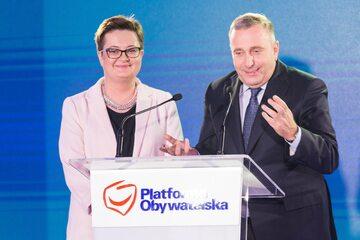 Katarzyna Lubnauer, Grzegorz Schetyna