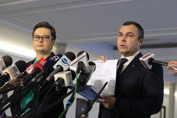 Katarzyna Lubnauer i Sławomir Potapowicz
