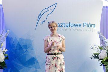 Katarzyna Pinkosz z nagrodą Kryształowe Pióro