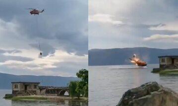 Katastrofa helikoptera w Chinach