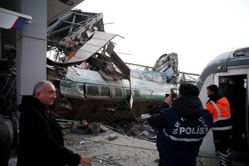 Katastrofa kolejowa w Turcji