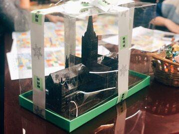 Katedra z czekolady od Russia Today