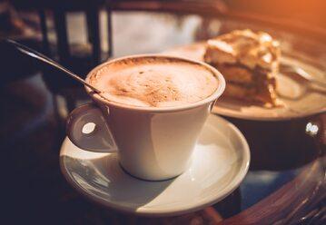 Kawa, ciastko, zdj. ilustracyjne
