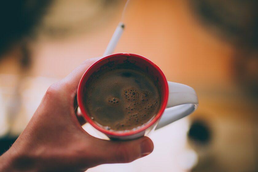 Kawa i papieros