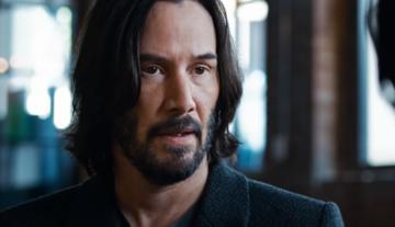 """Keanu Reeves w filmie """"Matrix Zmartwychwstania"""""""