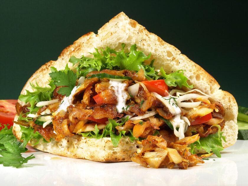 Kebab, zdjęcie ilustracyjne