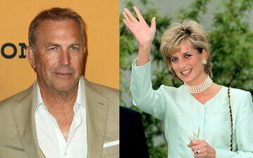 Kevin Costner, księżna Diana