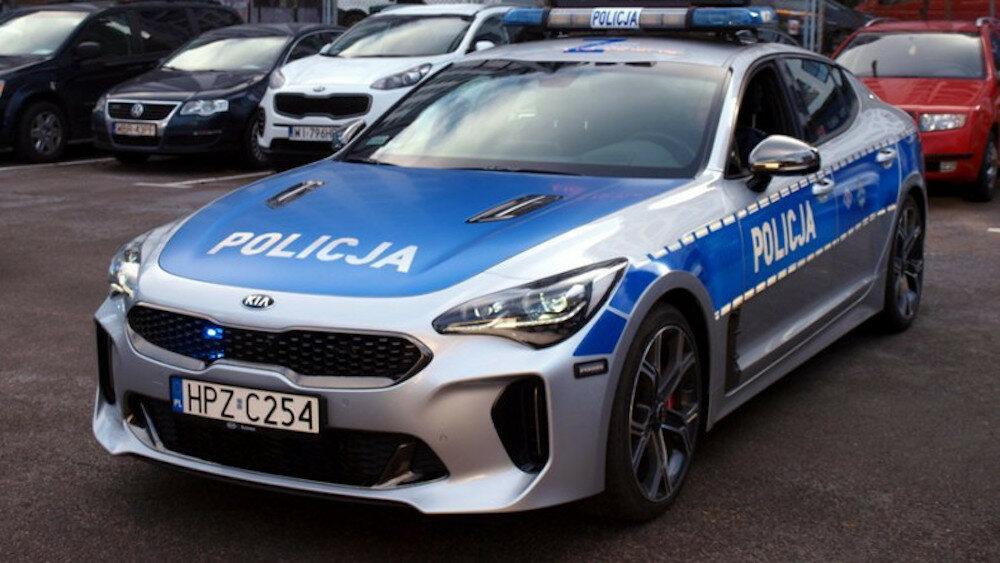 Kia Stinger – radiowóz policyjny
