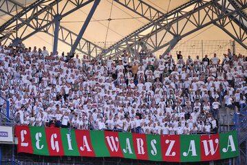 Kibice Legii Warszawa, zdjęcie ilustracyjne