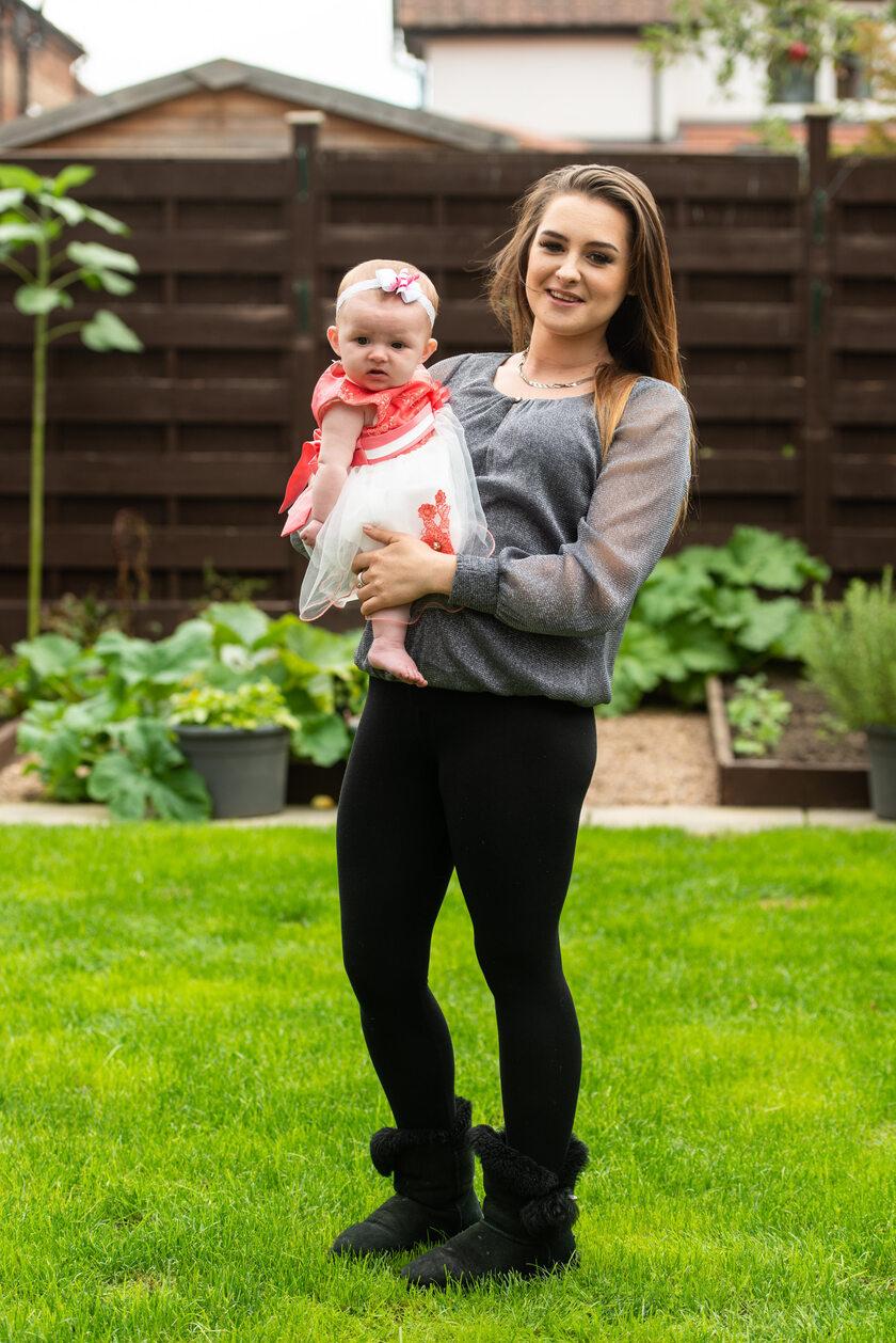 Kiera Meldrum z córką