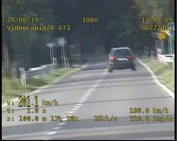 Kierowca 4-krotnie przekroczył prędkość