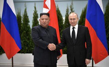 Kim Dzong Un i Wladimir Putin