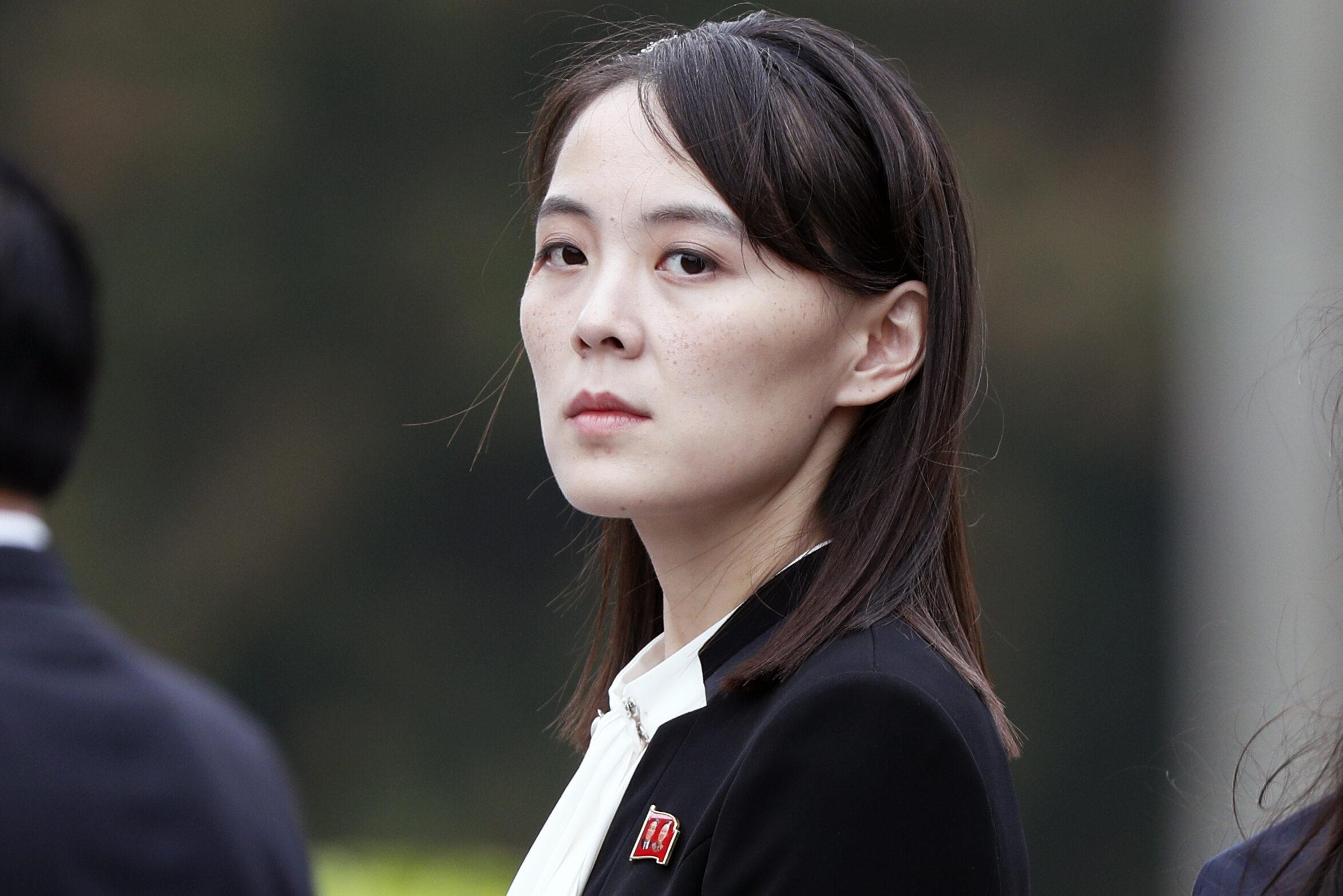 Kim Jo Dzong, młodsza siostra dyktatora Korei Północnej Kim Dzong Una