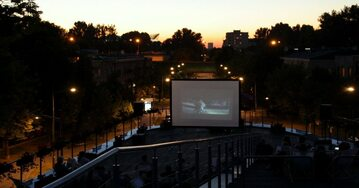Kino letnie w Prom Kultury Saska Kępa