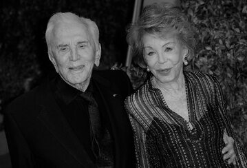 Kirk Douglas i Anne Douglas