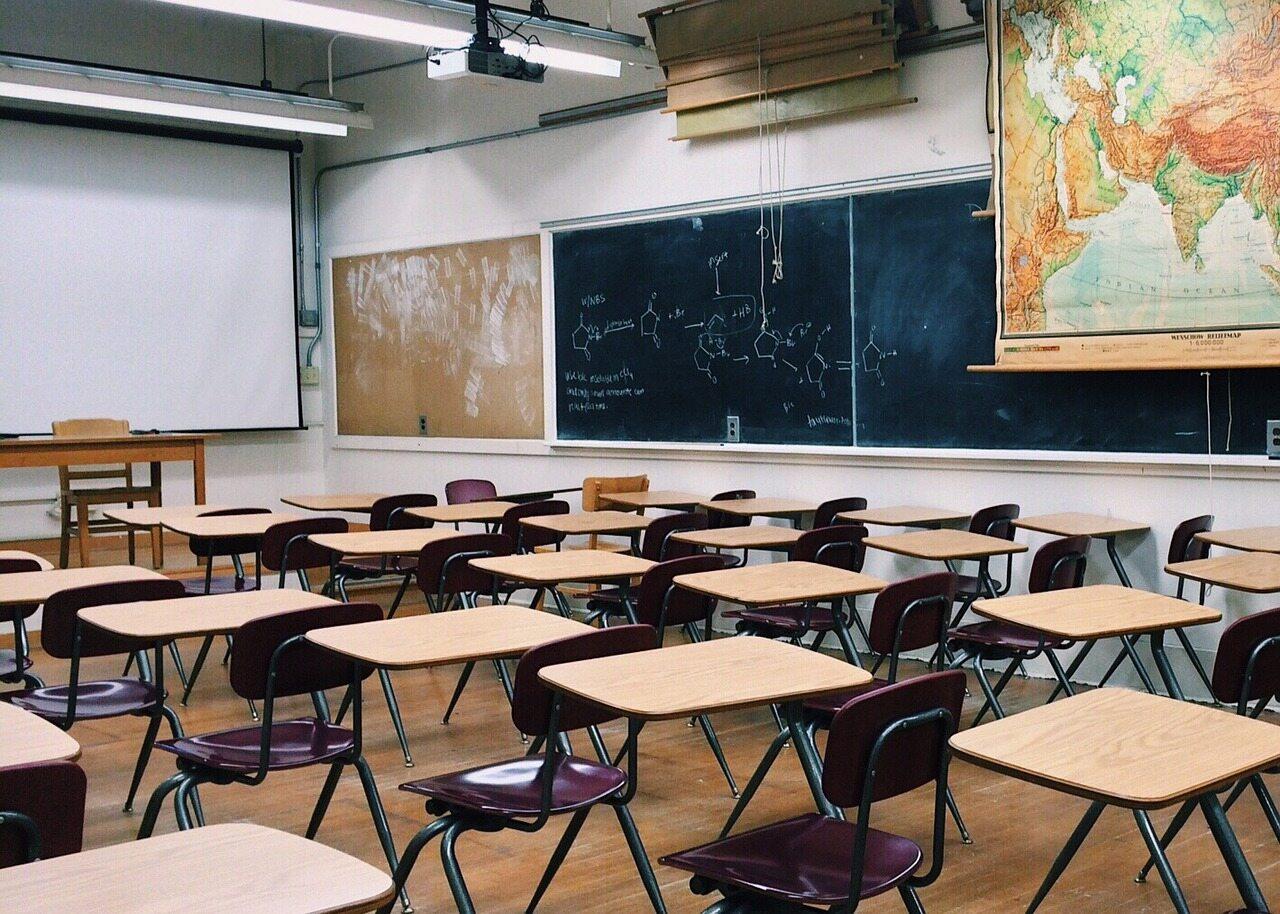 Klasa, sala lekcyjna, szkoła, zdj. ilustracyjne