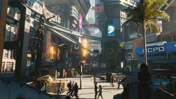 Klatka z trailera gry Cyberpunk 2077