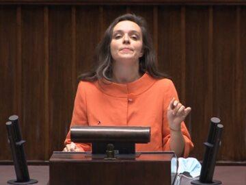 Klaudia Jachira w Sejmie