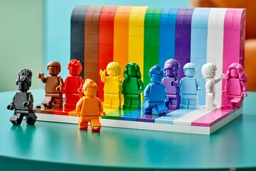 "Klocki Lego ""Everyone is Awesome"""