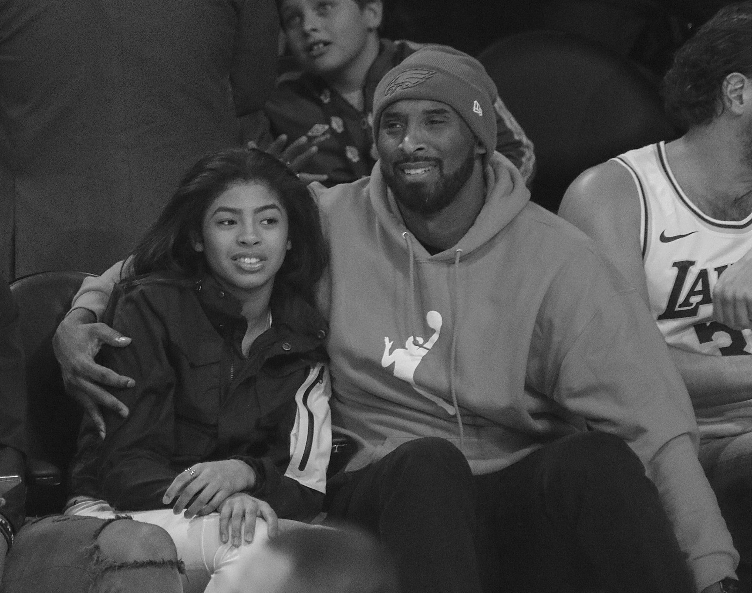 Kobe Bryant i jego córka, Gianna