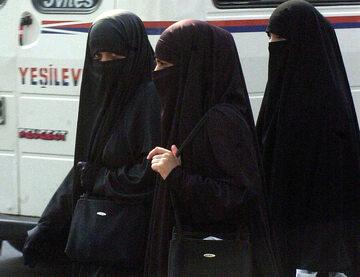 Kobiety w nikabach